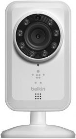 New Belkin NetCam Wi-Fi home security camera connects to your smartphone.