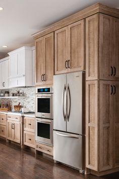 Update Kitchen Cabinets, Wooden Kitchen Cabinets, Kitchen Cabinet Storage, Kitchen Cabinet Design, Pantry Cabinets, Modern Farmhouse Kitchens, Farmhouse Kitchen Decor, Home Decor Kitchen, Cool Kitchens