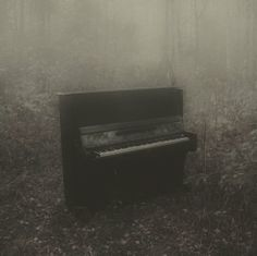 And when the music has faded, And the people all gone, I'll sit down at this Piano and play you one last song.