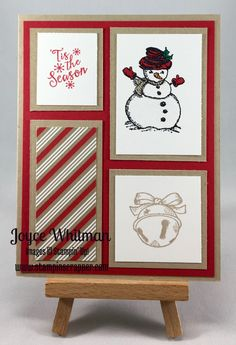 Versatile layout and the snowman is the cutest!  Link lists exact paper cuts!