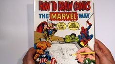Flip Through - How to draw Comics the Marvel way by Stan Lee and John Buscema Free Pdf Books, Free Ebooks, Comic Book Artists, Comic Books, Avengers Crafts, John Buscema, Comic Drawing, Stan Lee, Free Reading
