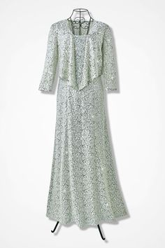 Lace Delight Jacket Dress by Alex Evenings - Coldwater Creek#prefn1=size&prefv1=24&start=8&cgid=new-arrivals-dresses#prefn1=size&prefv1=24&start=8&cgid=new-arrivals-dresses