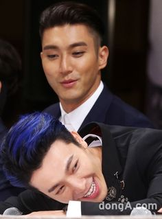 Siwon and Donghae - Super Junior