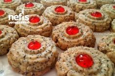 15 Dakika Kurabiyesi Dutch Recipes, Scones, Zucchini, Biscuits, Muffin, Food And Drink, Cookies, Baking, Breakfast