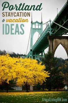 Portland Staycation & Vacation Ideas: 39 ways to enjoy Portland, Oregon on a budget! #Summer #Travel Staycation Ideas