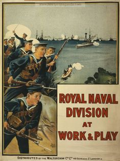Examples of Propaganda from WW1 | WW1 Navy Posters Page 6