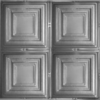 """Square-12 tin ceiling xpress. all steel nail up 24""""x24""""tiles $7 each can prime and paint ourselves?"""