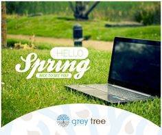 Hello spring. Nice to see you!