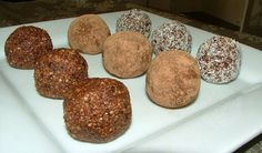 Raw Delights: Almond Milk Pulp and Chocolate Balls