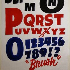I can never get enough of Dad's Paper Signs.  He's a natural.  #typehunter #signwriting #signs