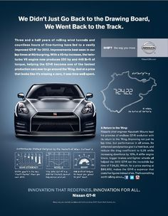 Nissan GT-R   INNOVATION THAT REDEFINES