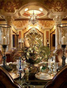 Exquisite Tablescape.  Perla Lichi