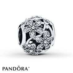 Jared - PANDORA Charm Dazzling Daisy Meadow Sterling Silver
