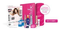 TestTube New Beauty - $29.95/month for beauty products, magazine & special related deals