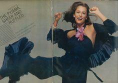 January 1973 - US Vogue Lauren Hutton by Avedon