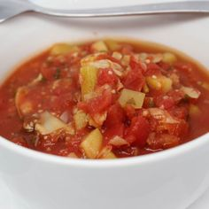 The weather is getting cooler. Warm up with a bowl of Zucchini Artichoke Stew! Get the #recipe here:  Ingredients: 2 (28 oz.) cans Dei Fratelli Petite Diced Tomatoes 1 cup artichoke hearts chopped 1 large zucchini peeled and chopped 1/2 cup fresh parsely chopped 2 Tbsp. garlic chopped 1 cup water Pepper to taste  Directions: 1. Spray a slow cooker with olive oil spray and set temperature to low.  2. Add all ingredients to pot and mix well except pepper.  3. Add pepper to your taste when…