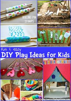 Learn with Play at Home: Fun and Easy DIY Play Ideas for Kids