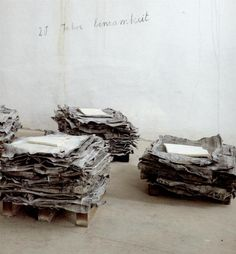 anselm kiefer, lead sheets, 1998