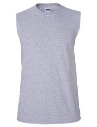 Gildan Mens Ultra Cotton Sleeveless T-Shirt, XL, Sport Grey fashion-t-shirts Perfect Image, Perfect Photo, Custom Tank Tops, Muscle Shirts, Shirt Maker, Yoga For Men, 1 Oz, Online Shopping Clothes, Athletic Tank Tops