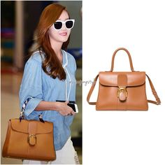 May 27, 2015 | Incheon airport Delvaux: Brilliant MM bag in Cognac Worn with: Lucky Chouette blouse