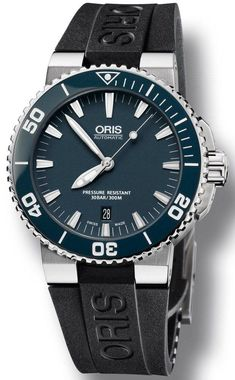 Oris Watch Aquis Date Rubber #bezel-unidirectional #bracelet-strap-rubber #brand-oris #case-depth-12-6mm #case-material-steel #case-width-43mm #date-yes #delivery-timescale-call-us #dial-colour-blue #gender-mens #luxury #movement-automatic #official-stockist-for-oris-watches #packaging-oris-watch-packaging #style-divers #subcat-aquis #supplier-model-no-01-733-7653-4155-07-4-26-34eb #warranty-oris-official-2-year-guarantee #water-resistant-300m