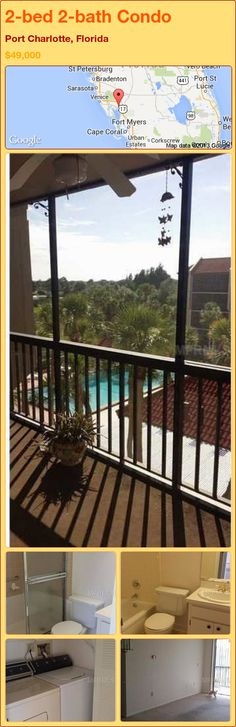 2-bed 2-bath Condo in Port Charlotte, Florida ►$49,000 #PropertyForSale #RealEstate #Florida http://florida-magic.com/properties/91066-condo-for-sale-in-port-charlotte-florida-with-2-bedroom-2-bathroom