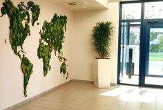 Green building refers to both a structure and the application of processes that are environmentally responsible and resource-efficient. Moss Wall Art, Moss Art, Moss Graffiti, Fleur Design, Moss Garden, Walled Garden, Interior Plants, Plant Wall, Green Building