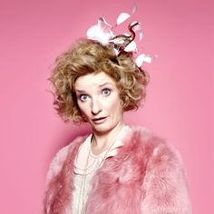 Absolutely Fabulous. Bubble (Jane Horrocks). Image credit: Saunders And French Productions.