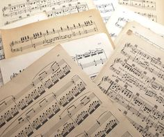 Old music 100 standard size pages BULK SALE music & songbook Old Sheet Music, Old Music, Vintage Sheet Music, Vintage Sheets, Music Aesthetic, Aesthetic Vintage, Aesthetic Pastel, Aesthetic Videos, Paper Craft Supplies