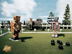 Robot Lawn Bowling