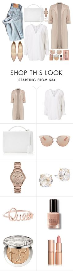 """Casual look! (Clean and Organized sets) - Contest!"" by asia-12 ❤ liked on Polyvore featuring Boohoo, Witchery, Mark Cross, Christian Dior, Burberry, Kate Spade, Maybelline and Bobbi Brown Cosmetics"
