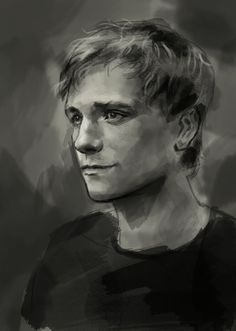 Peeta, if you don't know him, you need to read the Hunger Games