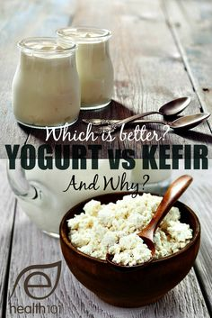 A must read for anyone trying to improve their gut health. The four strains of beneficial bacteria listed in the yogurt category is nothing when you compare it to everything you find in kefir.