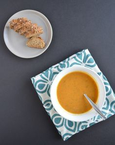 Carrots and sweet potatoes soup