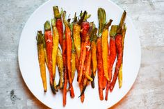 hello there home: roasted carrots with garlic
