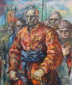 Gorbenko Vitalij. After the Battle. The Zaporozhian Cossacks