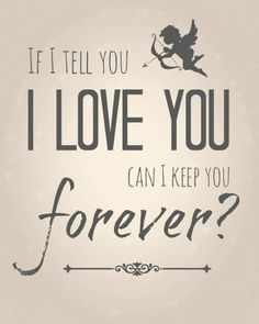I will keep you forever Him