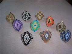 Кольцо -Драконий жемчуг- | biser.info - всё о бисере и бисерном творчестве