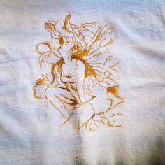 Έκσταση – T-Shirt Painting T Shirt Painting, Arts And Crafts, Handmade, Shirts, Beautiful, Hand Made, Art And Craft, Dress Shirts, Shirt