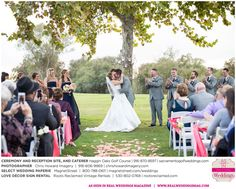 Featured Real Wedding: Nicole & Jared is published in Real Weddings Magazine's Summer/Fall 2015 Issue! Vendors include: www.chrishowardimagery.com; www.sacramentogolfweddings.com; www.magnetstreet.com/weddings; www.rootsreclaimed.com; www.macys.com. For more photos and their full list of wedding vendors, visit: www.realweddingsmag.com/?p=50556