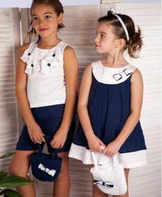 MODA INFANTIL ROPA para niños ropa para niñas ropita bebes: ROPA INFANTIL CHIC CLASICA DULCE