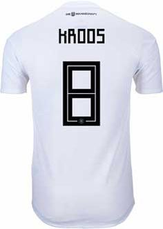 89434646fd4 2018 adidas Germany Authentic Toni Kroos Home Jersey. Hot at www.soccerpro .com