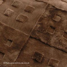 Vintage 1945 Rug Texture Close Up A Textured Chocolate Brown 100 New