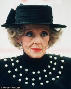 Still had Style - Bette Davis...she looks a little bit like Nancy Reagan...just more fun!