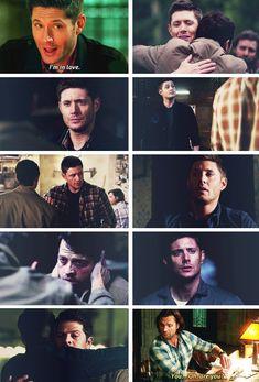 Sam, you know Dean is in love. #spn #destiel
