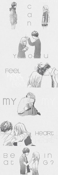 Uploaded by Sarah. Find images and videos about anime, romance and ao haru ride on We Heart It - the app to get lost in what you love. Manga Anime, Anime Ai, Kawaii Anime, Anime Qoutes, Manga Quotes, Manga Love, Anime Love, Manhwa, Futaba Y Kou
