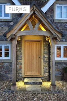 Handmade in the UK, beautiful solid oak porches enhance your property!
