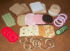 Picnic Basket Food - Not a free pattern, must pay for the set. -G