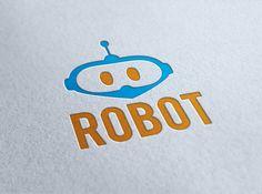 Robot Logo by ~KRONTM on deviantART
