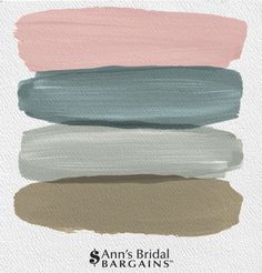 The Perfect Wedding Color Palette: Blush, Jade, Sage and Goldenrod. Blush and jade wedding. Blush and sage wedding.